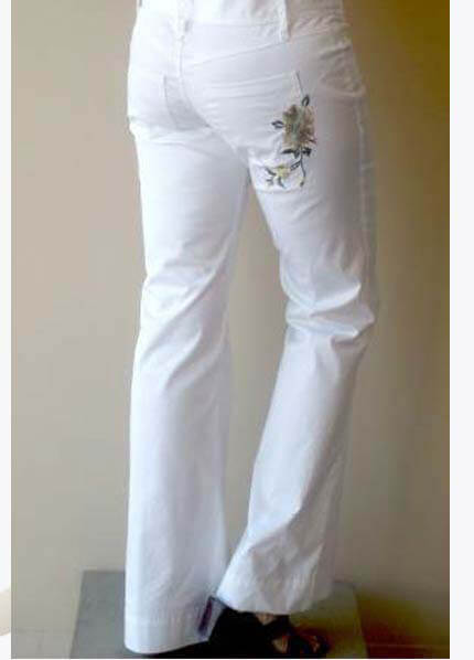 Lait - Asa Maternity Pant in White * ON SALE *