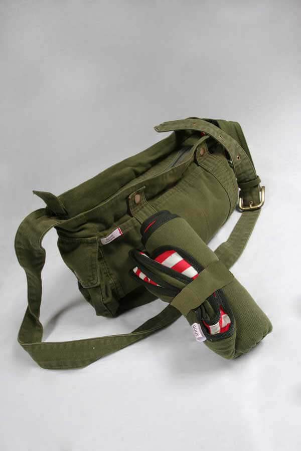 SN0003 - Khaki Canvas Nappy Bag :  nappy bag maternity accessories maternity