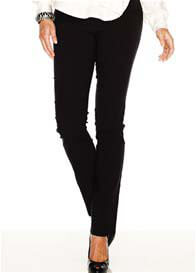 Soon Maternity - Straight Leg Pants in Black