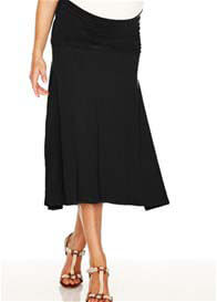 Trimester™ - Obsession Jersey Skirt in Black