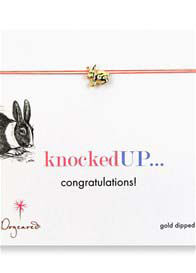 Dogeared - Knocked Up Make A Wish Necklace w Rabbit Charm