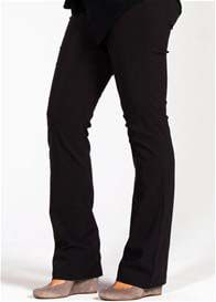 Mayreau - Amsterdam Boot Leg Maternity Pants in Black - ON SALE