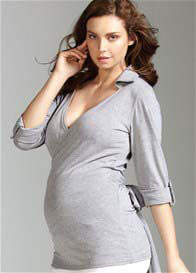 Trimester™ - Enigma Tab Sleeve Wrap Top - ON SALE