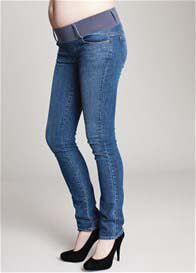 Maternal America - Classic Wash Skinny Jeans