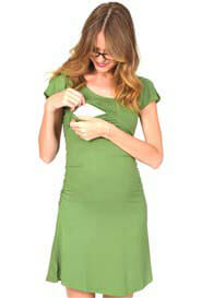 Quack Nursingwear - Cameron Angel Sleeve Dress