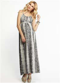 More of Me - Olivia Snakeskin Maxi Dress