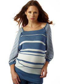 Seraphine - Nessa Striped Nursing Jumper