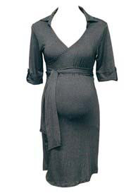 Trimester™ - Lyndon Collared Wrap Dress - AUTUMN OFFER
