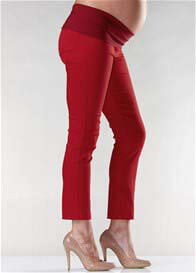 Soon Maternity - Audrey Red Capri - ON SALE