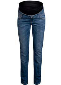 Queen mum - Classic Blue Straight Leg Jeans - ON SALE