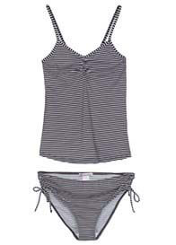 Queen mum - Striped Tankini