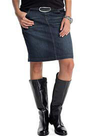 Esprit - Denim Skirt in Dark Wash - ON SALE