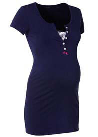 Noppies - Elise Nursing Top in Navy Blue