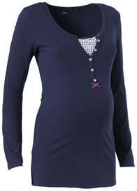 Noppies - Elise L/S Nursing Henley in Navy