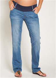 Esprit - Pale Stone Wash Straight Leg Jeans - ON SALE