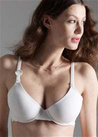 Esprit - Pure Nursing Bra in White