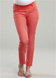 Maternal America - Coral Skinny Jeans - ON SALE