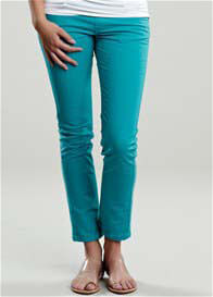 Maternal America - Turquoise Skinny Jeans - ON SALE