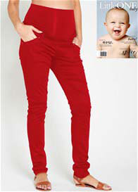 Noppies - Red Skinny Pants - ON SALE