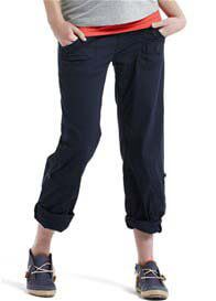 Esprit - Relaxed Fit Tab Hem Navy Cargo Pants