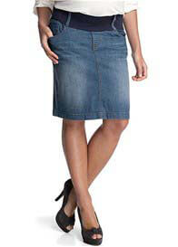 Esprit - Denim Skirt in Light Stone Wash - ON SALE