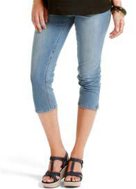 Esprit - Light Wash Denim Capris