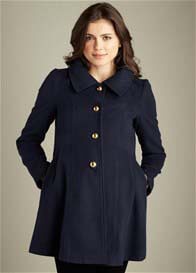 Maternal America - Navy Pea Coat
