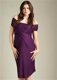 Maternal America - Convertible Miracle Dress in Grape - ON SALE