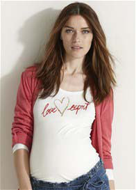 Esprit - Love Esprit Long Sleeve Top - ON SALE