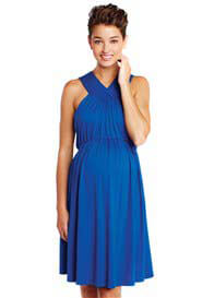 Maternal America - V-Halter Dress