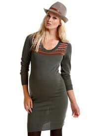 Esprit - Grey Knit Dress