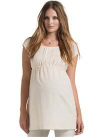 Esprit - Pintuck Detail Tunic in Off-White - ON SALE