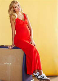 Queen mum - Marshall Red Maxi Dress