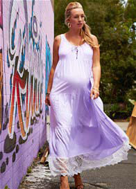 Fillyboo - Songbird Maxi Dress in Lilac