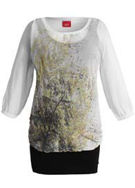 Esprit - Autumn Print Layered Tunic - WINTER OFFER