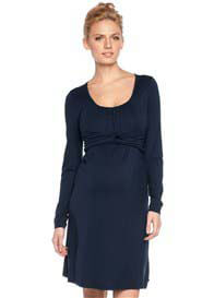 Esprit - Intertwined Dress in Navy