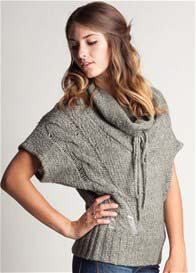 LA Made - Dusty Jadeite Cowl Knit Top - ON SALE