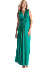 Seraphine - Emerald Green Maxi Dress