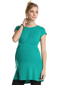 Esprit - Sleek Tunic in Crystal Green