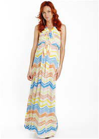 Everly Grey - Harmony Maxi Dress in Watercolour - ON SALE