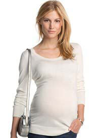 Esprit - Delightful Bow Jumper in Off-White - ON SALE