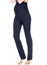 Seraphine - Navy Blue Straight Leg Trousers