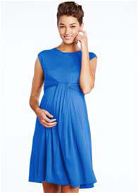 Maternal America - Cascade Dress in Royal Blue