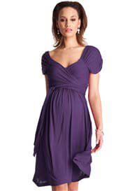 Seraphine - Amethyst Wrap Dress