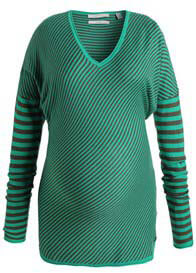 Esprit - Laurel Candy Green Striped Knit Pullover