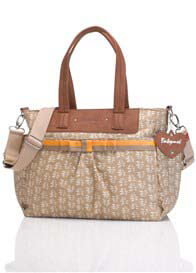 Babymel - Cara Baby Nappy Bag in Petal Fawn