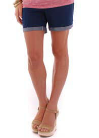 Everly Grey - Roxey Short in Indigo