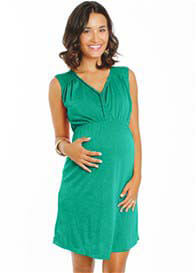 Everly Grey - Meagan Dress in Portofino Green