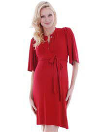 Everly Grey - Lindsey Dress in Red