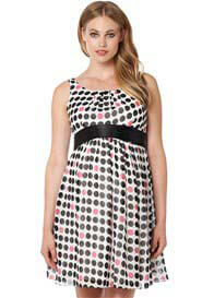 Noppies - Luna Party Dress in Charcoal Spot